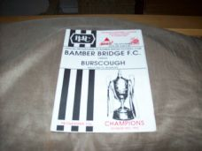 Bamber Bridge v Burscough, 1992/93